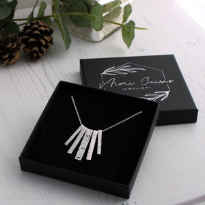Silver necklaces collection