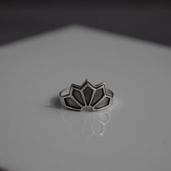 Deco Sun Ray Ring