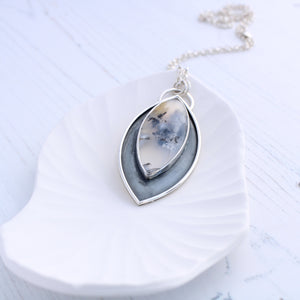 Limited edition Dendritic Opal Necklace, Aimi Cairns Jewellery