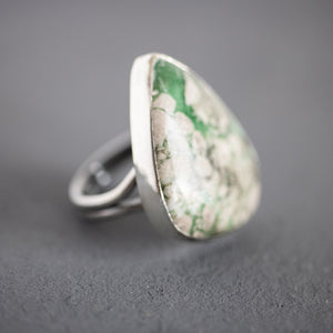 Variscite Silver Ring