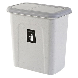Kitchen Push Cover Trash Can