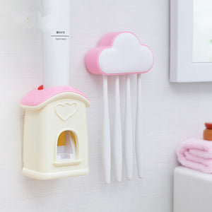 Toothbrush Holder Bathroom Set
