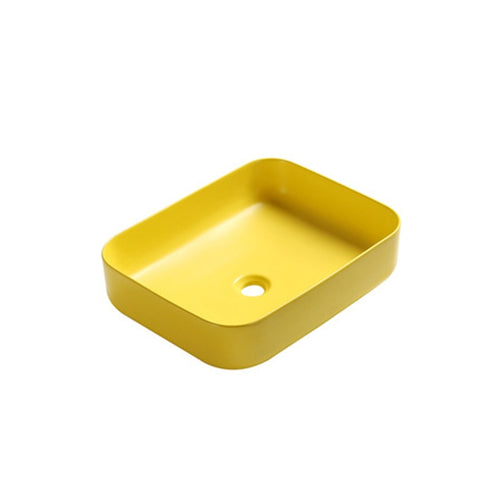 Nordic Yellow Above Counter Basin