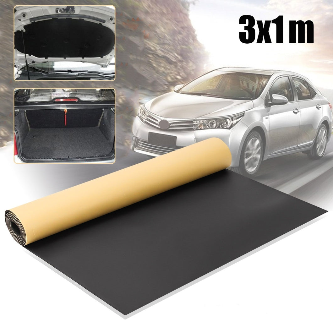 Automobiles Sound-Proof Heat Insulation