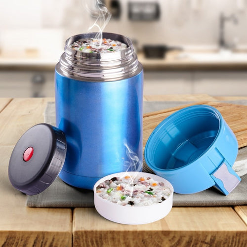 Steel Thermos Food