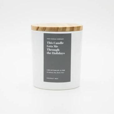 This Candle Gets Me Through the Holidays - May Wynn