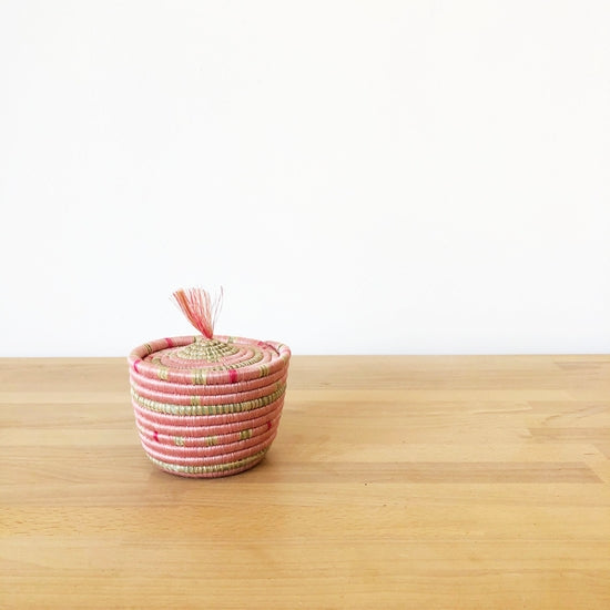 Muyaga Mini Lidded Basket