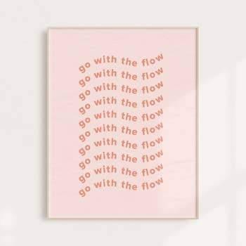 11x14 Go With the Flow Print - May Wynn