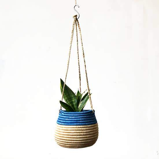 Hanging Woven Planter - May Wynn