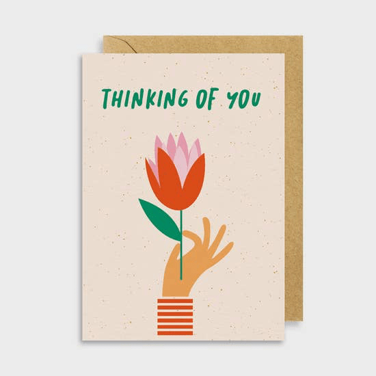 Think of You Card - May Wynn