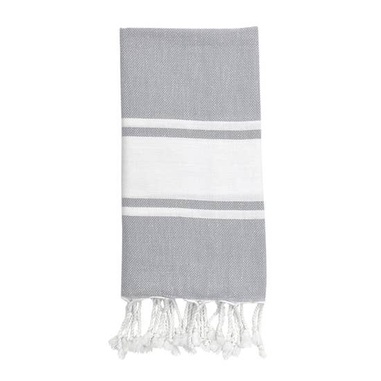 Essential Stripe Turkish Hand Towel - May Wynn