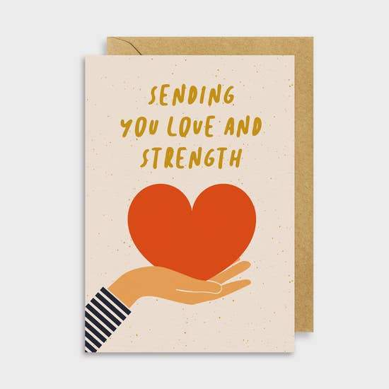 Sending Love Card - May Wynn