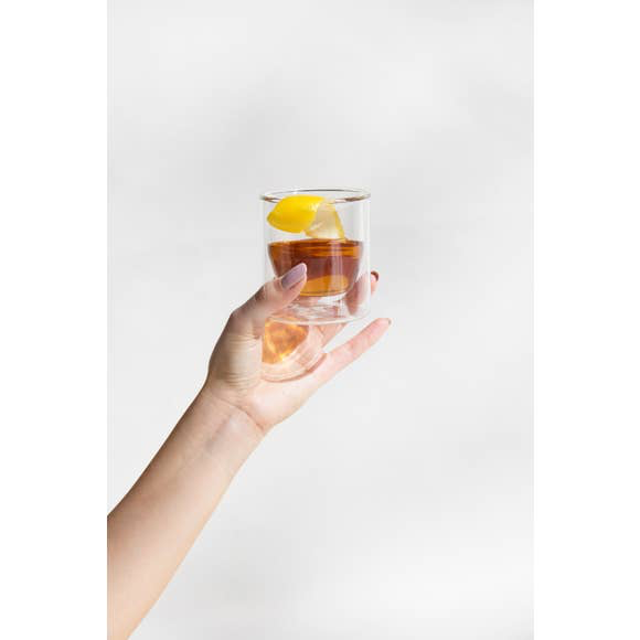 Double-Wall Clear Glass - 6 oz.