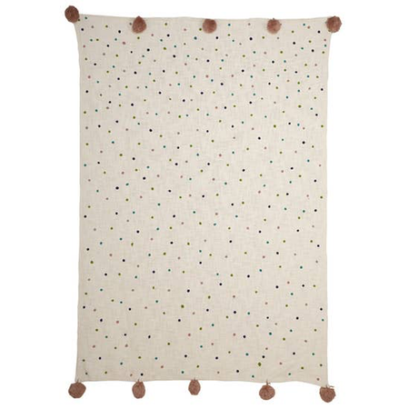 Polka Dot Throw