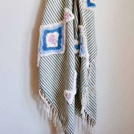 Embellished Throw