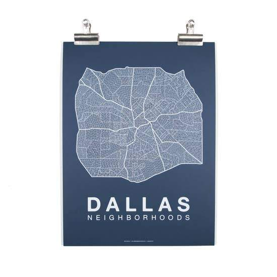 Dallas Neighborhood Map - May Wynn