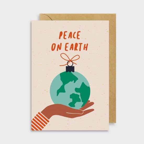 Peace on Earth Card - May Wynn