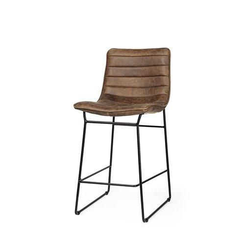 Leather Counter Stool - May Wynn