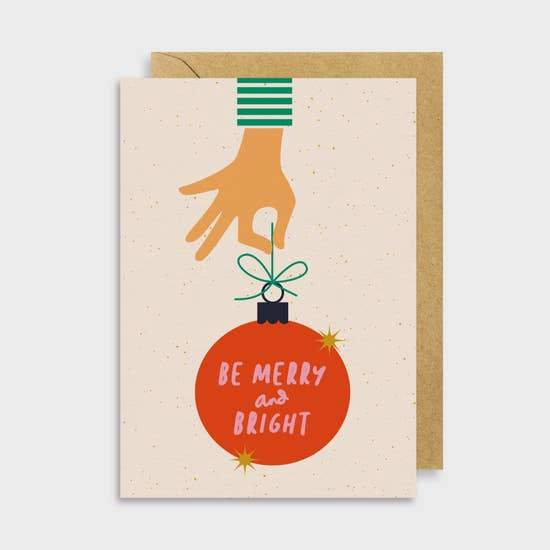 Be Merry Card - May Wynn
