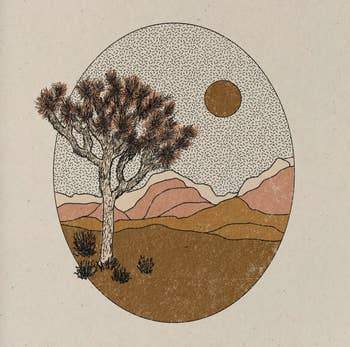 """Joshua Tree"" by ColorBloKC"