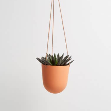 Block Color Hanging Planter - Desert