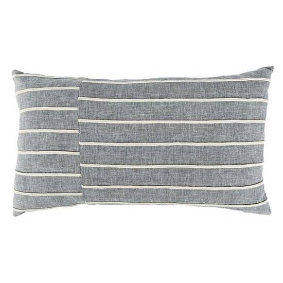 "12""x20"" Braiden Pieced Pillow"