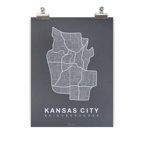 Kansas City Neighborhood Map - May Wynn