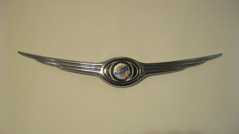 01-02 PT CRUISER HOOD EMBLEM CHROME -- OEM