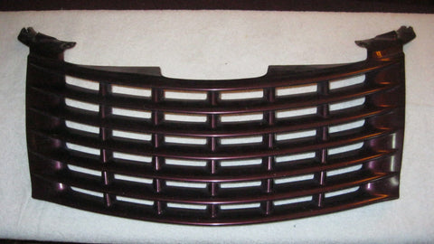 01-05 PT CRUISER FRONT UPPER GRILLE PURPLE IN COLOR