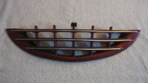 03-05 PT CRUISER FRONT LOWER GRILLE BURGENDY IN COLOR