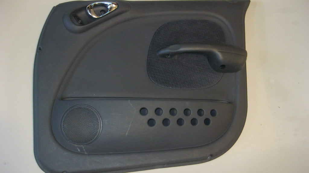 01-05 PT CRUISER PASSENGERS SIDE FRONT DOOR PANEL-- BLACK--OEM