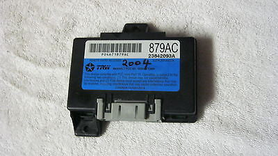 01-05 PT CRUISER POWER DOOR LOCK CONTROLLER -  879 AC  --- OEM