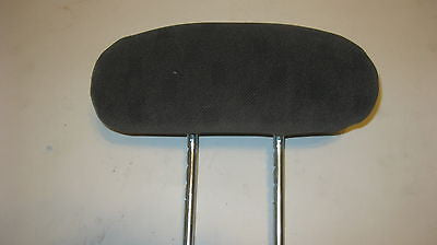 01-05 PT CRUISER PASSENGER SIDE REAR CLOTH HEADREST- GRAY IN COLOR-- OEM