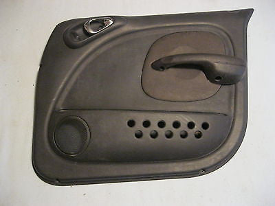 01-05 PT CRUISER PASSENGER SIDE FRONT DOOR TRIM PANEL BLACK --- OEM