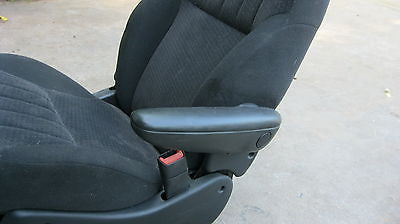01-05 PT CRUISER  PASSENGER SEAT ARM REST - WITH HARDWARE- BLACK IN COLOR-- OEM