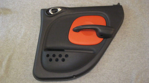03 PT CRUISER PASSENGER SIDE REAR DOOR PANEL-BLACK WITH ORANGE SERIES 2 - OEM