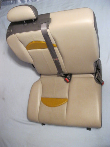 02- PT CRUISER PASSANGER SIDE REAR SEAT---SERIES 1 -- GOLD IN COLOR -- OEM