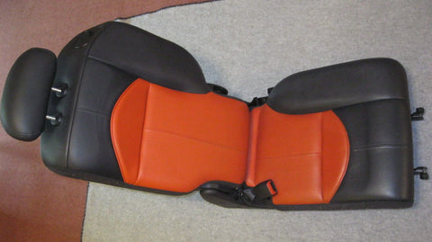03- PT CRUISER DRIVERS SIDE REAR SEAT---SERIES 2 -- ORANGE IN COLOR -- OEM