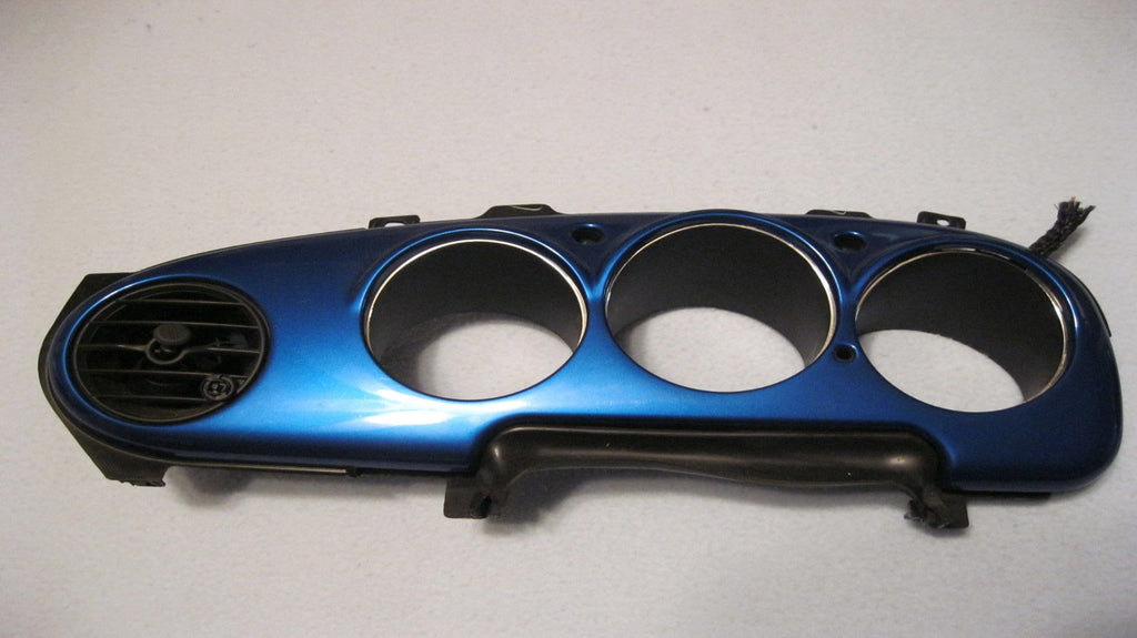 01-05 PT CRUISER INSTRUMENT CLUSTER BEZEL -- LIGHT BLUE -- OEM