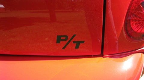 01-10 PT CRUISER DECALS-- 2 FRONT AND 1 REAR - OTHER COLORS ON REQUEST