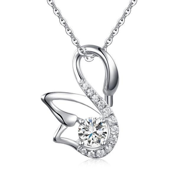 Sterling Silver Necklace - PFN8061