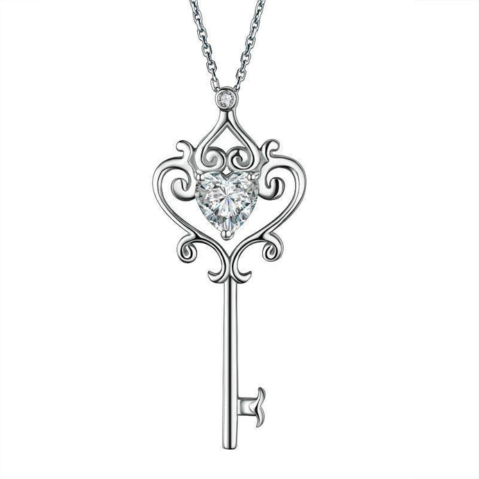 Sterling Silver Necklace - PFN8086