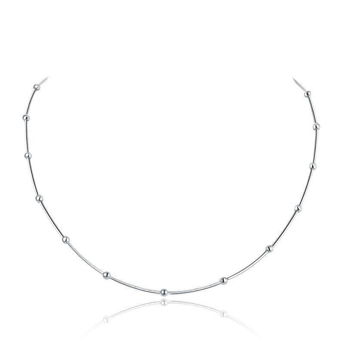 Sterling Silver Necklace - PFN8094