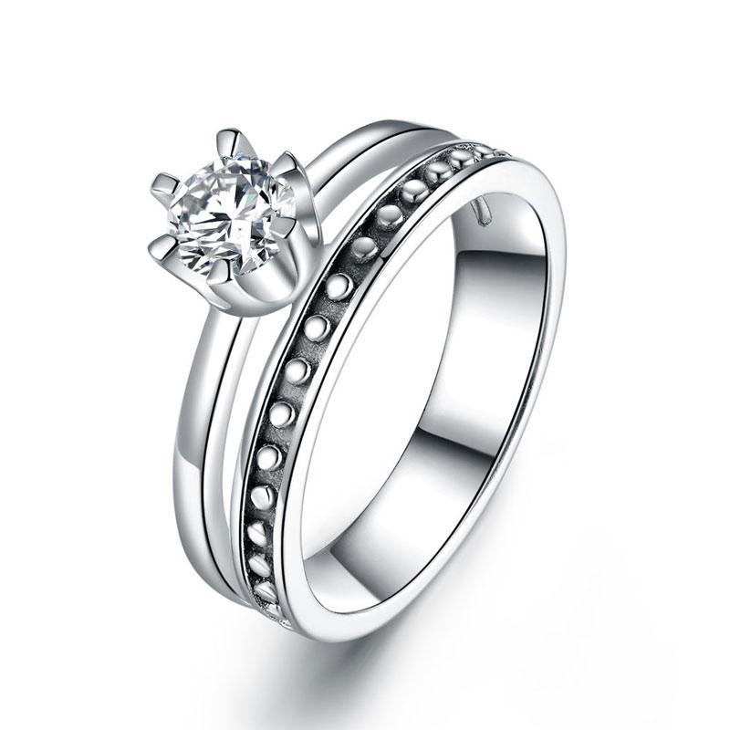 Sterling Silver Ring - PFR8290