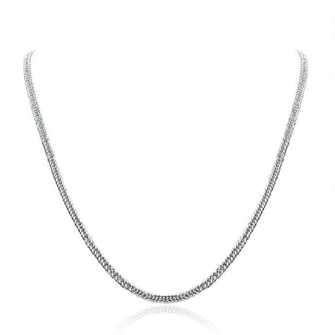 Sterling Silver Necklace - PFN8133