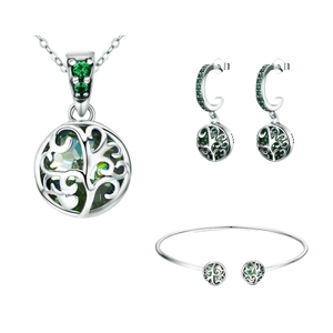 Sterling Silver Jewellery Set - ZHS053