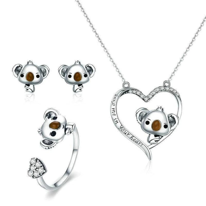 Sterling Silver Jewellery Set - ZHS062