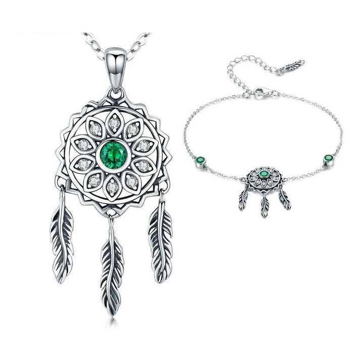 Sterling Silver Jewellery Set - ZHS069