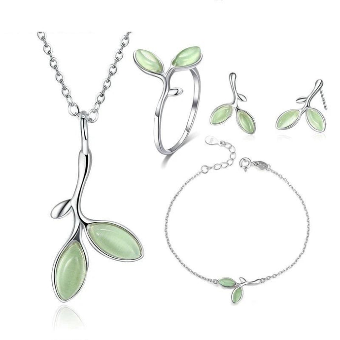 Sterling Silver Jewellery Set - ZHS070