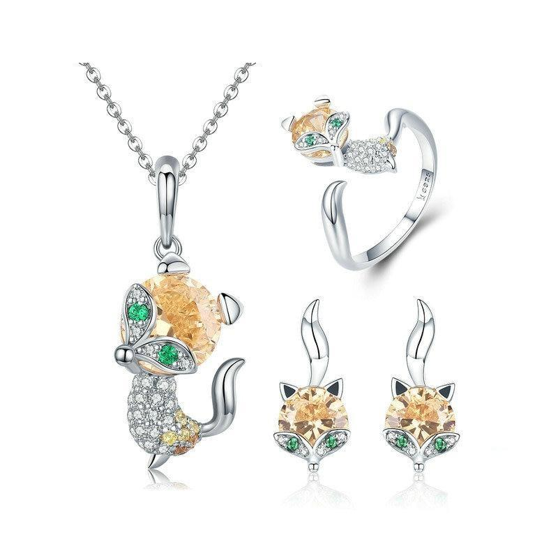 Sterling Silver Jewellery Set - ZHS072